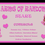 Arms of Random title screen