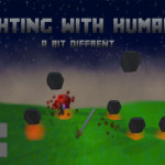 Fighting with Humans title screen