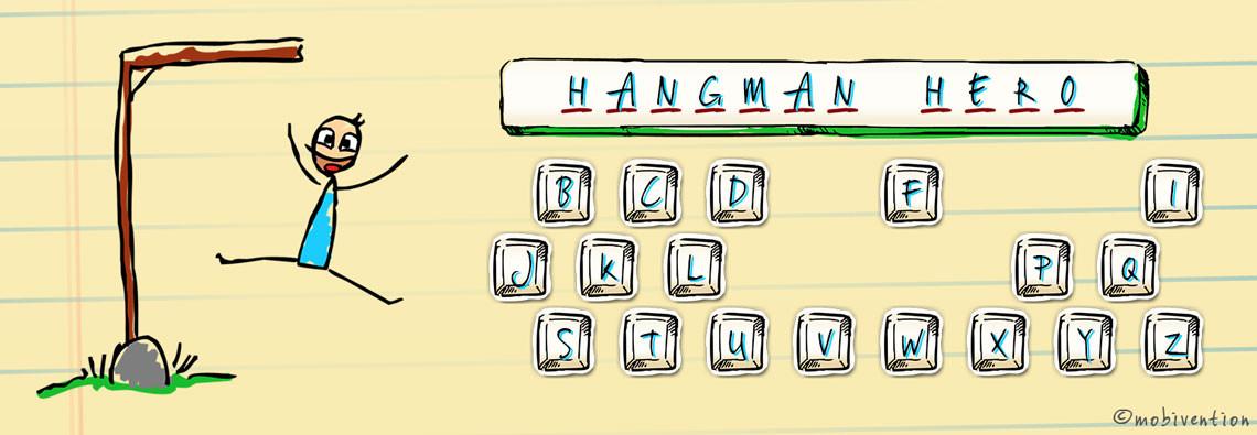 Hangman Hero banner