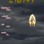 Result Screen - Goku