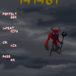 Result Screen - Devil Level 6